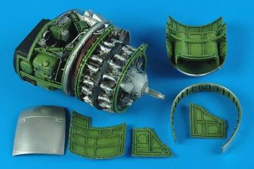 P-47D Thunderbolt - Engine set · AIR 2167 ·  Aires Hobby Models · 1:32