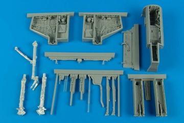 A-4E/F Skyhawk - Wheel bay & - Gun bay [Trumpeter] · AIR 2172 ·  Aires Hobby Models · 1:32
