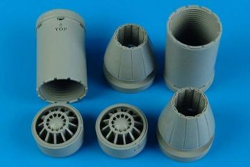 F7A-18E/F - Exhaust nozzles - closed [Trumpeter] · AIR 2179 ·  Aires Hobby Models · 1:32