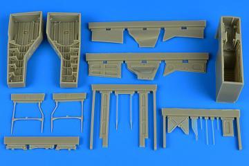 T-28 Trojan - Wheel bay [Kitty Hawk] · AIR 2215 ·  Aires Hobby Models · 1:32