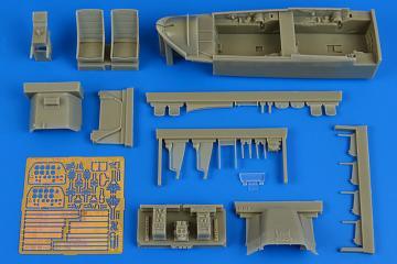 T-28B Trojan - Cockpit set [Kitty Hawk] · AIR 2217 ·  Aires Hobby Models · 1:32