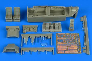 T-28C Trojan - Cockpit set [Kitty Hawk] · AIR 2219 ·  Aires Hobby Models · 1:32