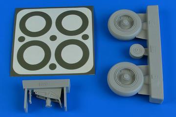 A-1J Skyraider - Wheels & paint masks [Trumpeter] · AIR 2231 ·  Aires Hobby Models · 1:32