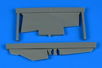 MiG-23ML - Correct tail fin [Trumpeter] · AIR 2233 ·  Aires Hobby Models · 1:32