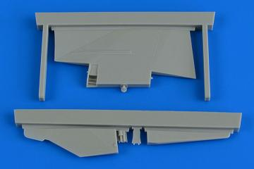 MiG-23MF/MLD - Correct tail fin [Trumpeter] · AIR 2235 ·  Aires Hobby Models · 1:32