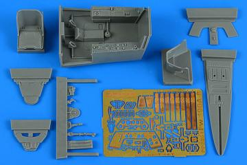 Focke Wulf Fw 190 A-8 - Cockpit set [Revell] · AIR 2251 ·  Aires Hobby Models · 1:32