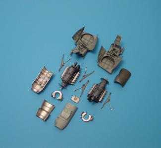 Messerschmitt Me 410A-1 - Engine [Revell] · AIR 4170 ·  Aires Hobby Models · 1:48