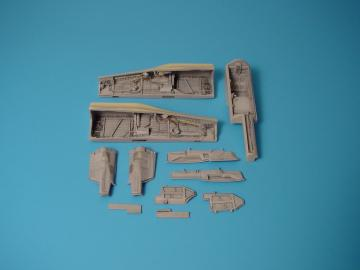 MiG-29A Fulcrum - Wheel bay · AIR 4188 ·  Aires Hobby Models · 1:48