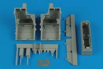 F-22A Raptor - Wheel bays [Hasegawa] · AIR 4500 ·  Aires Hobby Models · 1:48