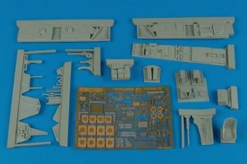 Ar 196A-5 - Cockpit set [Italeri] · AIR 4503 ·  Aires Hobby Models · 1:48