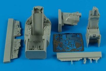 F-16C Barak block 40 - Cockpit set [Kinetic] · AIR 4514 ·  Aires Hobby Models · 1:48