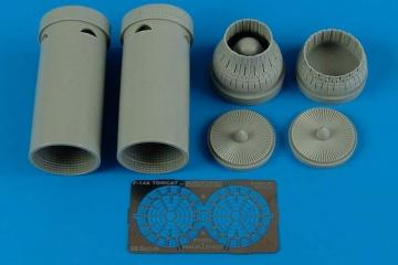 F-14A Tomcat - Exhaust nozzles - var. [Academy] · AIR 4527 ·  Aires Hobby Models · 1:48
