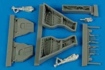 Sea Wixen FAW. 2 - Wheel bay [Airfix] · AIR 4531 ·  Aires Hobby Models · 1:48
