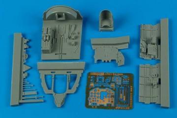 J2M3 Raiden - Cockpit set [Hasegawa] · AIR 4538 ·  Aires Hobby Models · 1:48