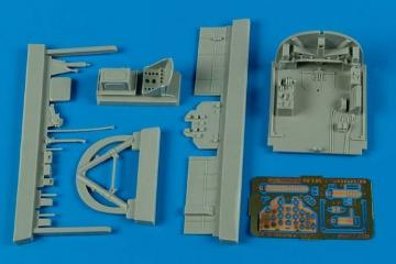 N1K1 Shiden - Cockpit set [Hasegawa] · AIR 4539 ·  Aires Hobby Models · 1:48