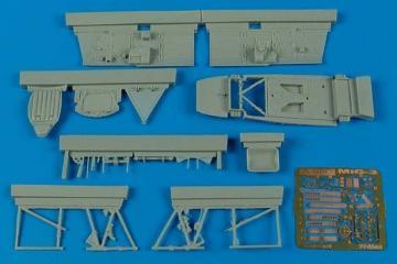 MiG-3 - Cockpit set [Trumpeter] · AIR 4544 ·  Aires Hobby Models · 1:48