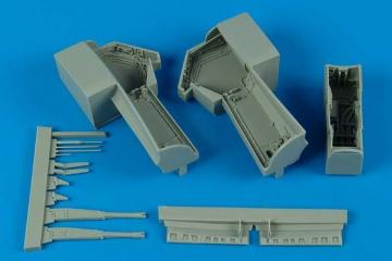 A-6 Intruder - Wheel bay · AIR 4545 ·  Aires Hobby Models · 1:48
