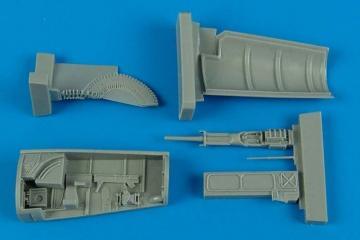 F-5F Tiger II gun by [AFV-Club] · AIR 4554 ·  Aires Hobby Models · 1:48