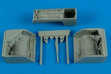 MiG-23 Flogger - Wheel bay [Trumpeter] · AIR 4569 ·  Aires Hobby Models · 1:48