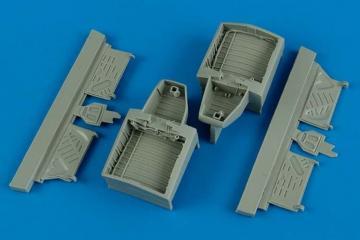 F4U-4 Corsair whell bay [HobbyBoss] · AIR 4572 ·  Aires Hobby Models · 1:48
