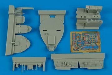 F8F-1 Bearcat - Cockpit set [HobbyBoss] · AIR 4573 ·  Aires Hobby Models · 1:48