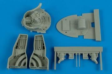 F8F-1 Bearcat - Wheel bay [HobbyBoss] · AIR 4574 ·  Aires Hobby Models · 1:48