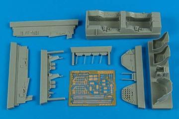 T-28 Trojan - Cockpit set [Roden] · AIR 4576 ·  Aires Hobby Models · 1:48