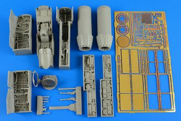 F/A-18A/C Hornet - Detail Set [Hasegawa] · AIR 4600 ·  Aires Hobby Models · 1:48
