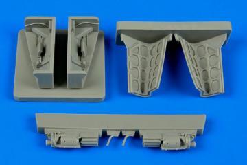 Sepecat Jaguar - Gun bay [Kitty Hawk] · AIR 4605 ·  Aires Hobby Models · 1:48