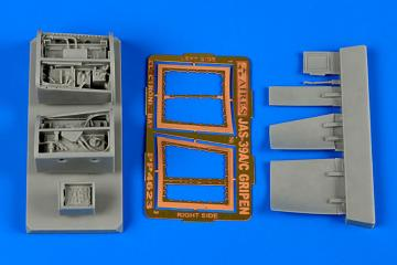JAS-39C Gripen - Electronic bay [Kitty Hawk] · AIR 4623 ·  Aires Hobby Models · 1:48