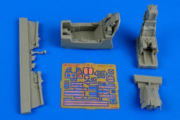 Kfir C2/C7 - Cockpit set [Kinetic] · AIR 4628 ·  Aires Hobby Models · 1:48
