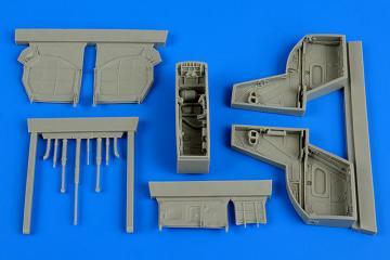 Kfir C2/C7 - Wheel bay [Kinetic] · AIR 4632 ·  Aires Hobby Models · 1:48