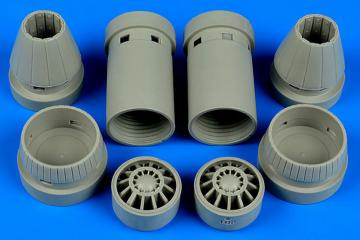 F/A-18E Super Hornet - Exhaust nozzles - closed [Revell] · AIR 4641 ·  Aires Hobby Models · 1:48