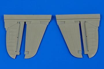 P-40M/N Warhawk - Control surfaces [Hasegawa] · AIR 4665 ·  Aires Hobby Models · 1:48