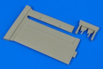 D.H.Vampire - Control surfaces [Trumpeter] · AIR 4667 ·  Aires Hobby Models · 1:48