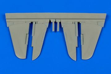 YAK-3 - Control surfaces [Zvezda] · AIR 4668 ·  Aires Hobby Models · 1:48