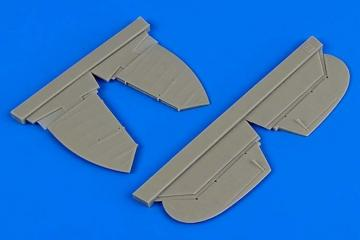Heinkel He 51 B.1 - Control surfaces [Roden] · AIR 4677 ·  Aires Hobby Models · 1:48
