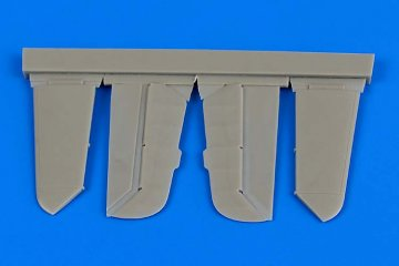 Messerschmitt Bf 109 F - Control surfaces [Zvezda] · AIR 4679 ·  Aires Hobby Models · 1:48