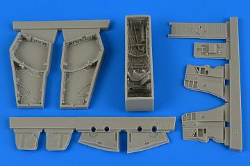 Phantom F-4 J/S Phantom II - Wheel bay [Academy] · AIR 4681 ·  Aires Hobby Models · 1:48