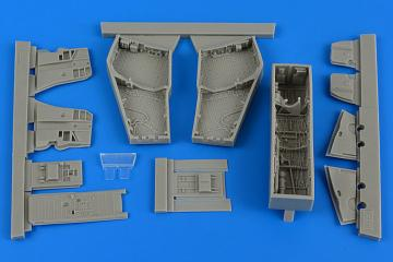 F-4C/D Phantom II - Wheel bay with covers [Academy] · AIR 4688 ·  Aires Hobby Models · 1:48