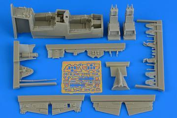 F-106B Delta Dart - Cockpit set [Trumpeter] · AIR 4730 ·  Aires Hobby Models · 1:48