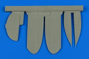 A5M2 Claude - Control surfaces [AMK] · AIR 4731 ·  Aires Hobby Models · 1:48