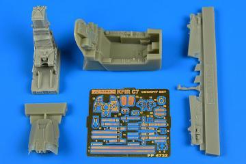 IAI Kfir C7 - Cockpit set [AMK] · AIR 4732 ·  Aires Hobby Models · 1:48