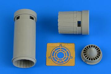 IAI Kfir C2/C7 - Exhaust nozzzle [AMK] · AIR 4734 ·  Aires Hobby Models · 1:48
