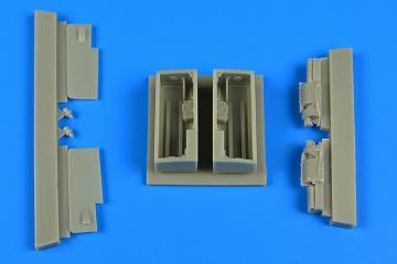 IAI Kfir C2/C7 - Gun bay [AMK] · AIR 4735 ·  Aires Hobby Models · 1:48