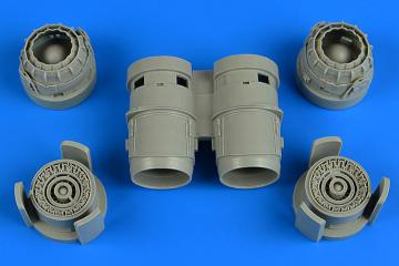 Tornado - Exhaust nozzles [Revell] · AIR 4736 ·  Aires Hobby Models · 1:48