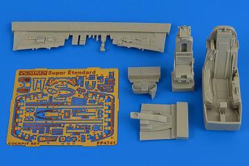 SuE Super Etendard - Cockpit set [Kinetic] · AIR 4741 ·  Aires Hobby Models · 1:48