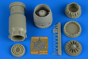 MiG-23BN - Late - Exhaust nozzle - closed [Trumpeter] · AIR 4749 ·  Aires Hobby Models · 1:48
