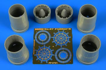 Su-27 Flanker B - Exhaust nozzles [HobbyBoss] · AIR 4751 ·  Aires Hobby Models · 1:48