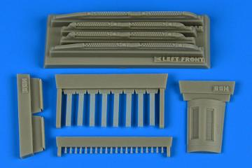 Su-17/22M3/M4 Fitter K - Covered chaff / flare dispensers [HobbyBoss] · AIR 4757 ·  Aires Hobby Models · 1:48